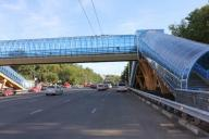 The construction of the first overground crossing began in Kostanay